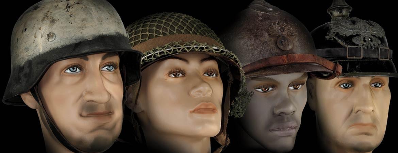 mannequincollection.com c'est plus de 40 modèles de têtes de présentation, exclusifs et inédits conçus par des collectionneurs passionnés.